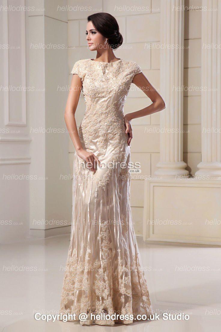 wedding lace wedding dresses cheap Champagne Colored Lace Evening Gowns dresses lace wedding dresses inexpensive wedding dress