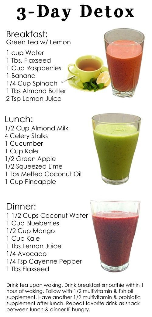 ANOTHER PINNER SAID:  Dr. Ozs 3-Day Detox Cleanse. Just did this and feel sooo m
