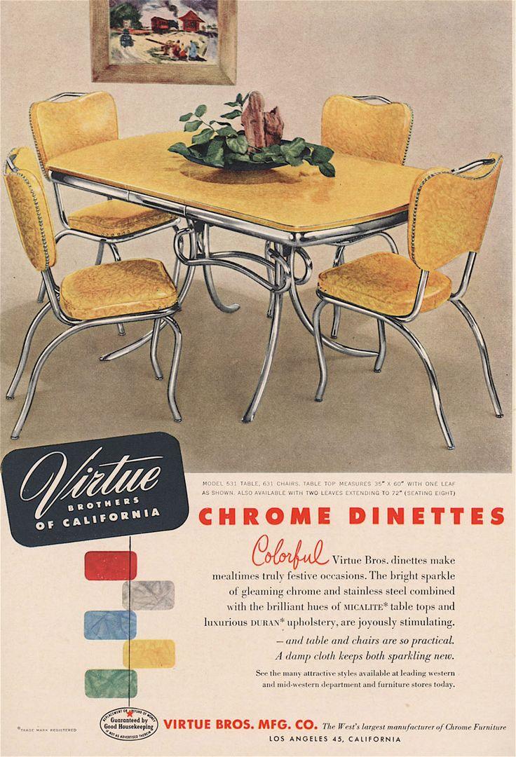 kitchen dinette sets retro kitchen table sets Kitchen dinette set Great color choices