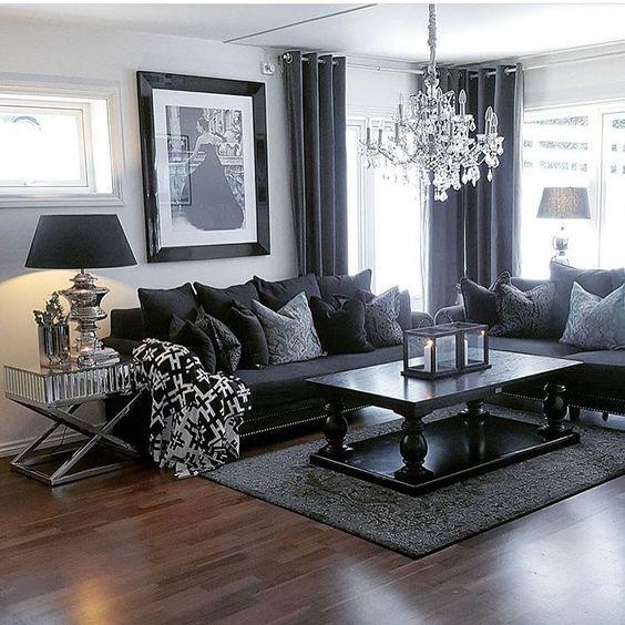a dark palette does not necessarily mean space black furniture decor r