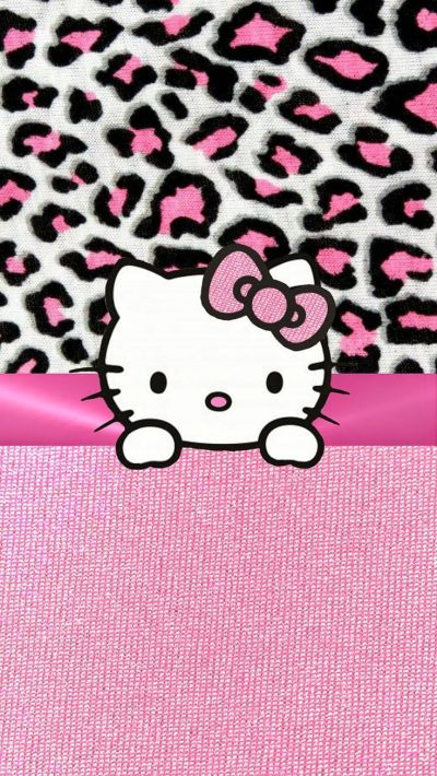 PINK HELLO KITTY IPHONE WALLPAPER BACKGROUND | IPHONE WALLPAPER / BACKGROUNDS | Pinterest ...