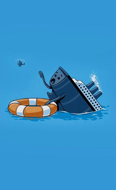 Ship Sink - Funny iPhone wallpapers @mobile9 | iPhone 6 & iPhone 6 Plus Wallpapers, Cases & More ...