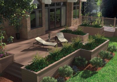 Deck & Fence Designs | Deck & Fence Ideas | Decking & Fencing Inspiration Gallery | Home Depot ...