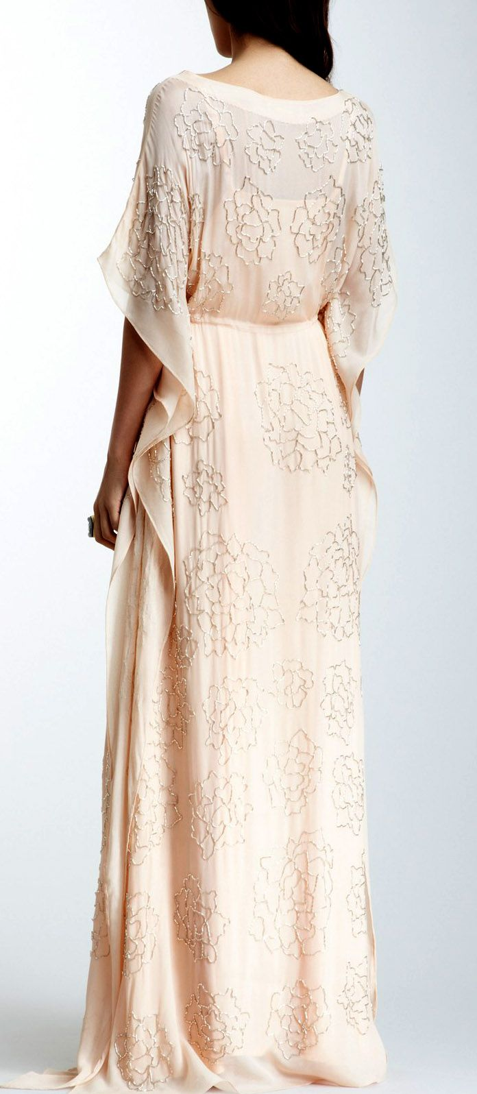 i do peasant style wedding dress Rose beaded maxi dress