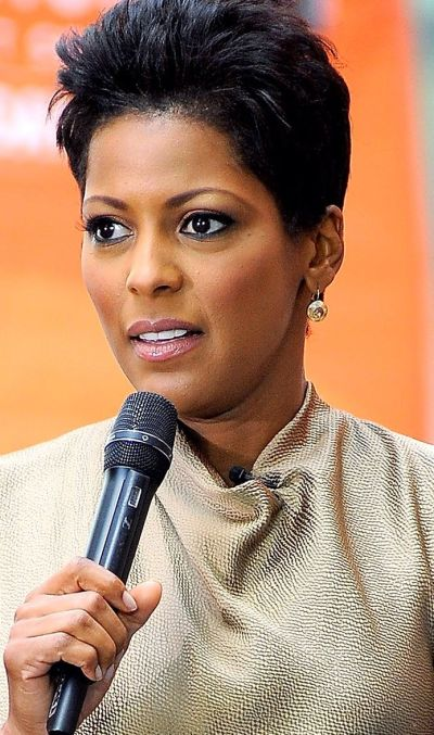 Tamron Hall | Short hair don't care! | Pinterest | Anchors and News
