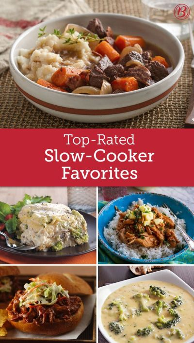 Top-Rated Slow Cooker Favorites | Star rating