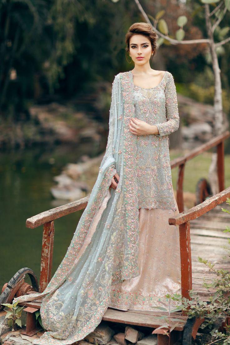 pakistani wedding dresses wedding outfits Sara Naqvi