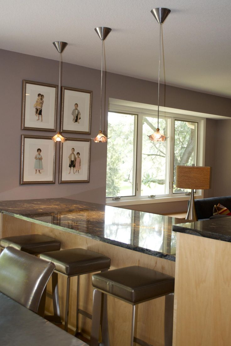ceiling lights hanging kitchen lights Awesome Brown Wood Glass Stainless Cool Design Kitchen Island Three Pendant Lamp Granite Top Chairs Windows Slide Wall Picture Photo Table Lamp At Kitchen