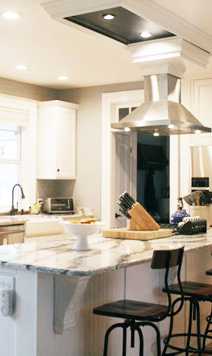 customer range hoodsvent hoods kitchen island vent Talk about a Kitchen Island done right featuring a beautiful stainless steel 48 Island