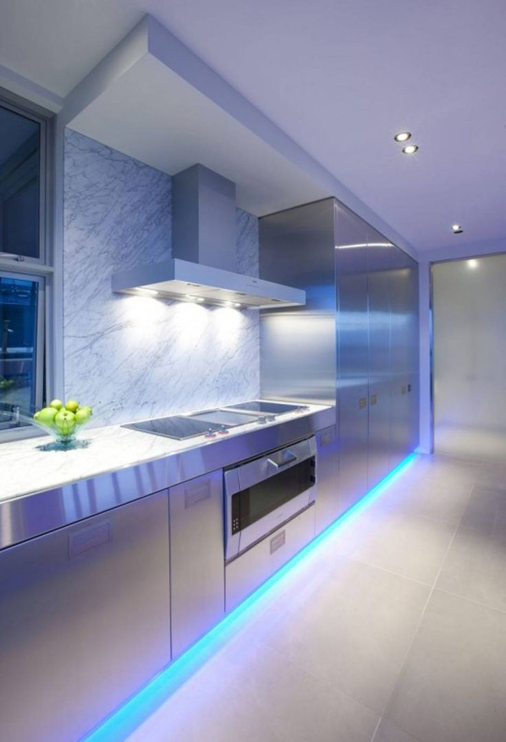led kitchen lighting ideas kitchen lighting A Contemporary Kitchen by Mal Corboy Auckland New Zealand based designer Mal Corboy has sent us some photos of a contemporary kitchen he has completed