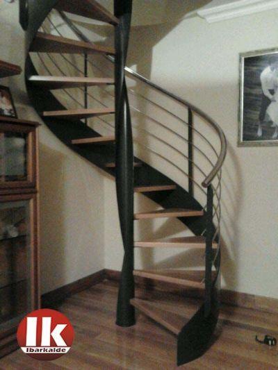 Escaleras de Caracol Herreria Moderna interior t