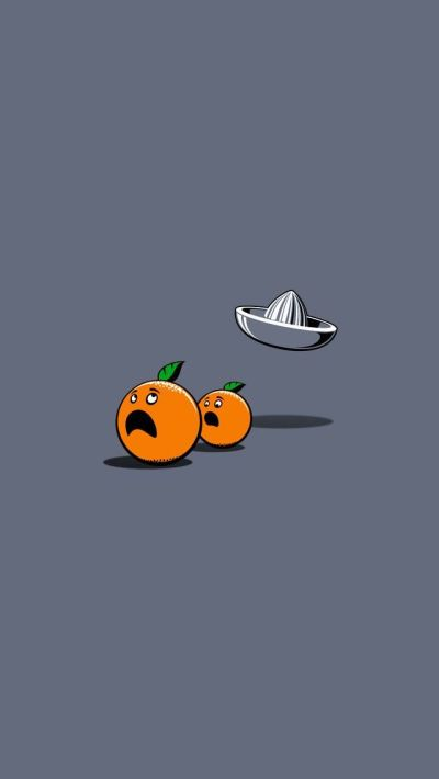 Orange - #cute #funny iPhone wallpaper @mobile9 | iPhone 7 & iPhone 7 Plus Wallpapers, Cases ...