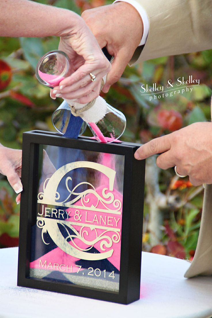 unity ceremony wedding unity ideas We re having a unity sand ceremony and I think I like this idea instead