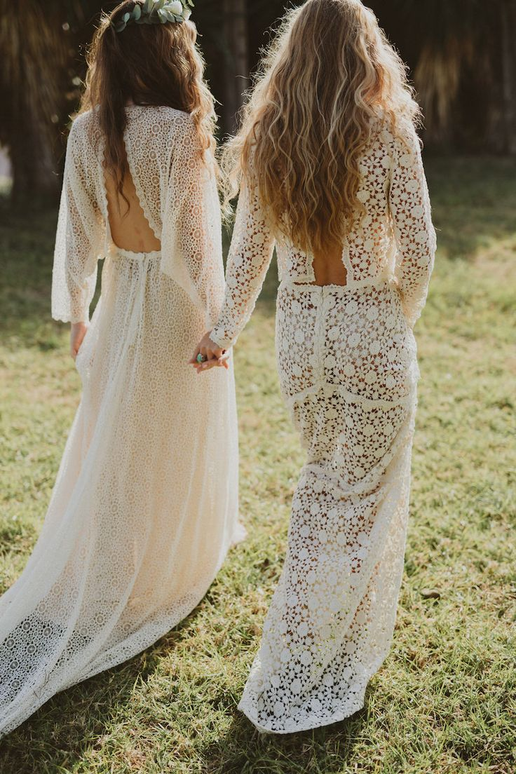 bohemian weddings boho wedding dress Immacl Barcelona Wedding Dress Collection bohemian