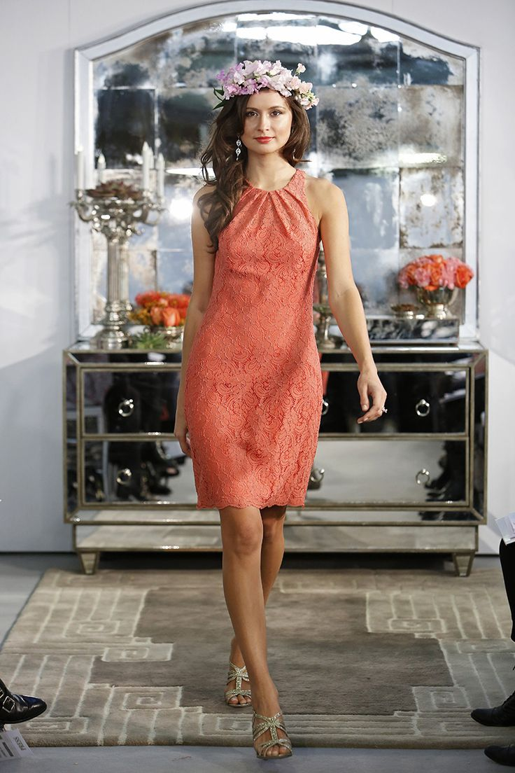 wedding dress coral dress for wedding beach wedding with coral bridesmaid dresses At the Golden Globes coral was the hot color of the night with