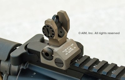 Troy Folding Battle Sight Rear- High quality backup iron sight for the M4/M16/AR-15. | Military ...