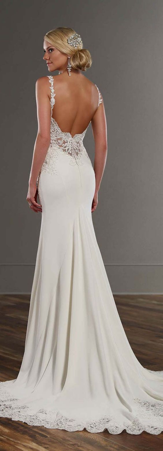 open back dresses open back wedding dresses Open Back Wedding Dresses with Beautiful Details
