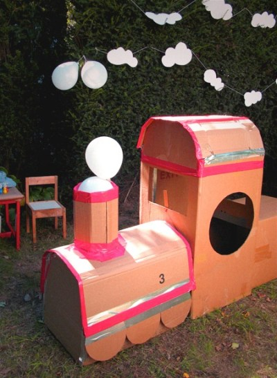 25+ best ideas about Cardboard Train on Pinterest | Thomas train birthday, Train party and Train ...