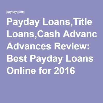 1000+ ideas about Best Online Payday Loans on Pinterest | Online Payday Loan Lenders, Loan ...