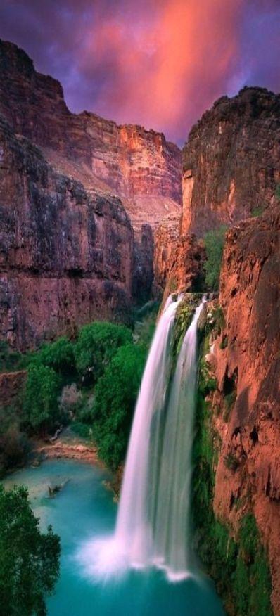 Havasu Falls, Grand Canyon, Arizona: