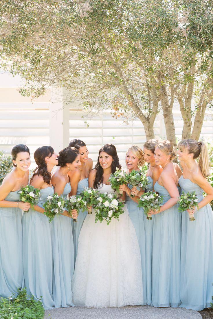 pastel blue wedding light blue wedding dress 45 Pretty Pastel Light Blue Wedding Ideas