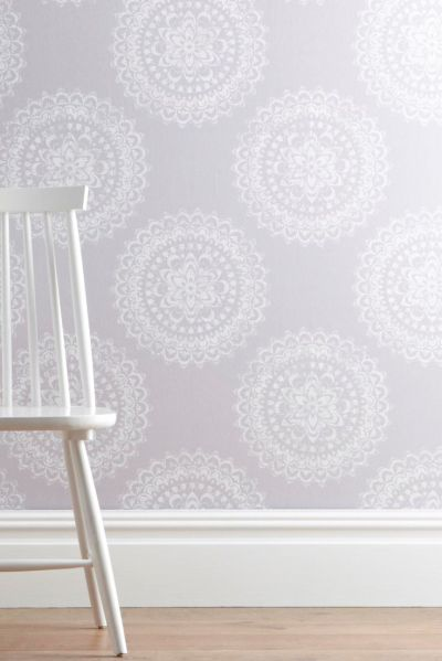Buy Intricate Lace Medallion Wallpaper from the Next UK online shop   wallpaper   Pinterest ...
