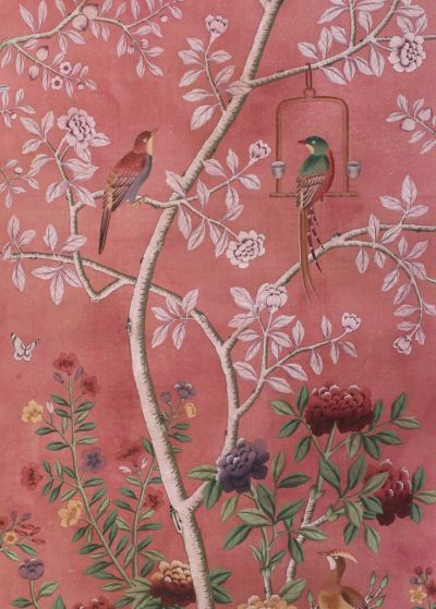 25+ best ideas about Chinoiserie wallpaper on Pinterest | Powder rooms with chinoiserie inspired ...