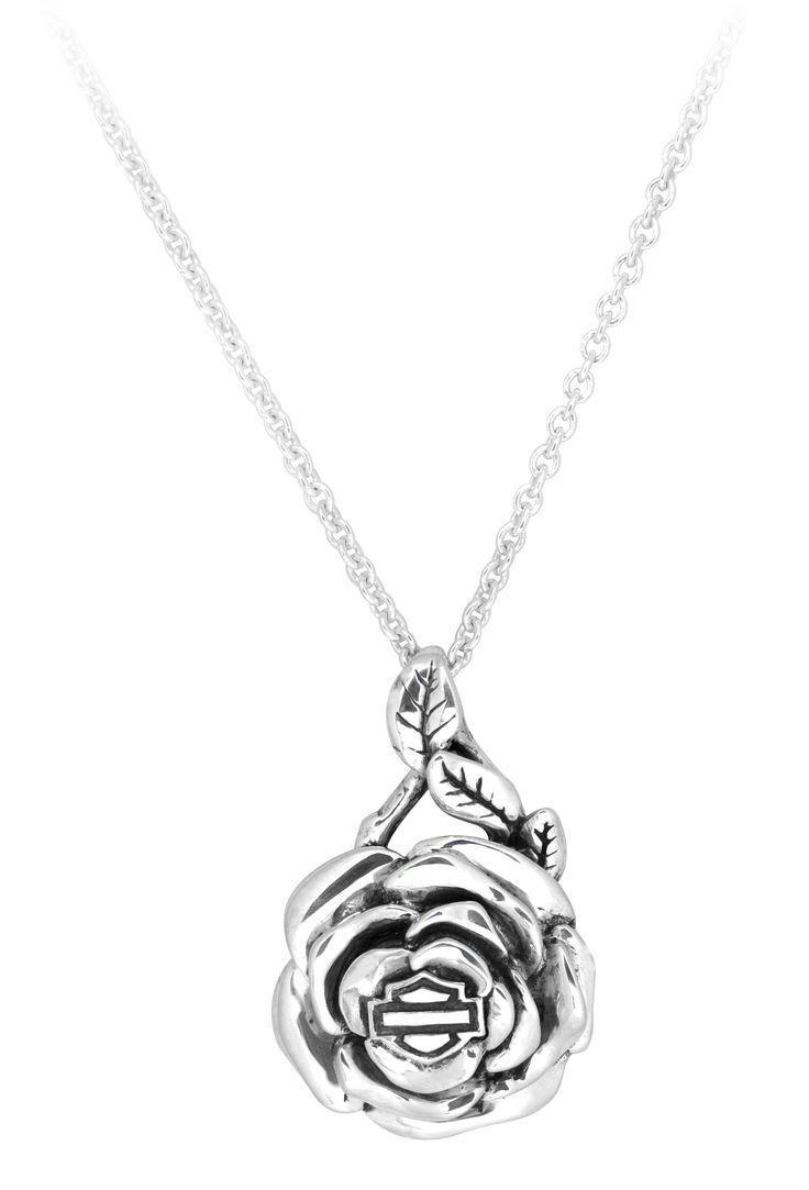 harley davidson jewelry harley davidson wedding bands harley davidson jewelry rose necklace HDN Harley Davidson