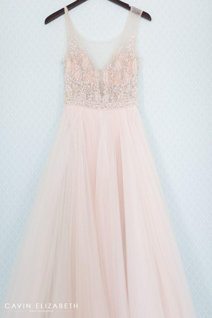 blush wedding dresses colored wedding dress Darlington House Wedding