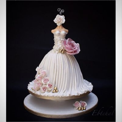 17 Best ideas about Dress Cake on Pinterest | Wedding ...