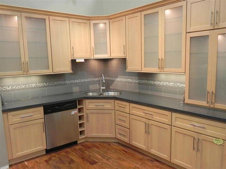 Delighful Maple Cabinets Kitchen Light Key On Inspiration