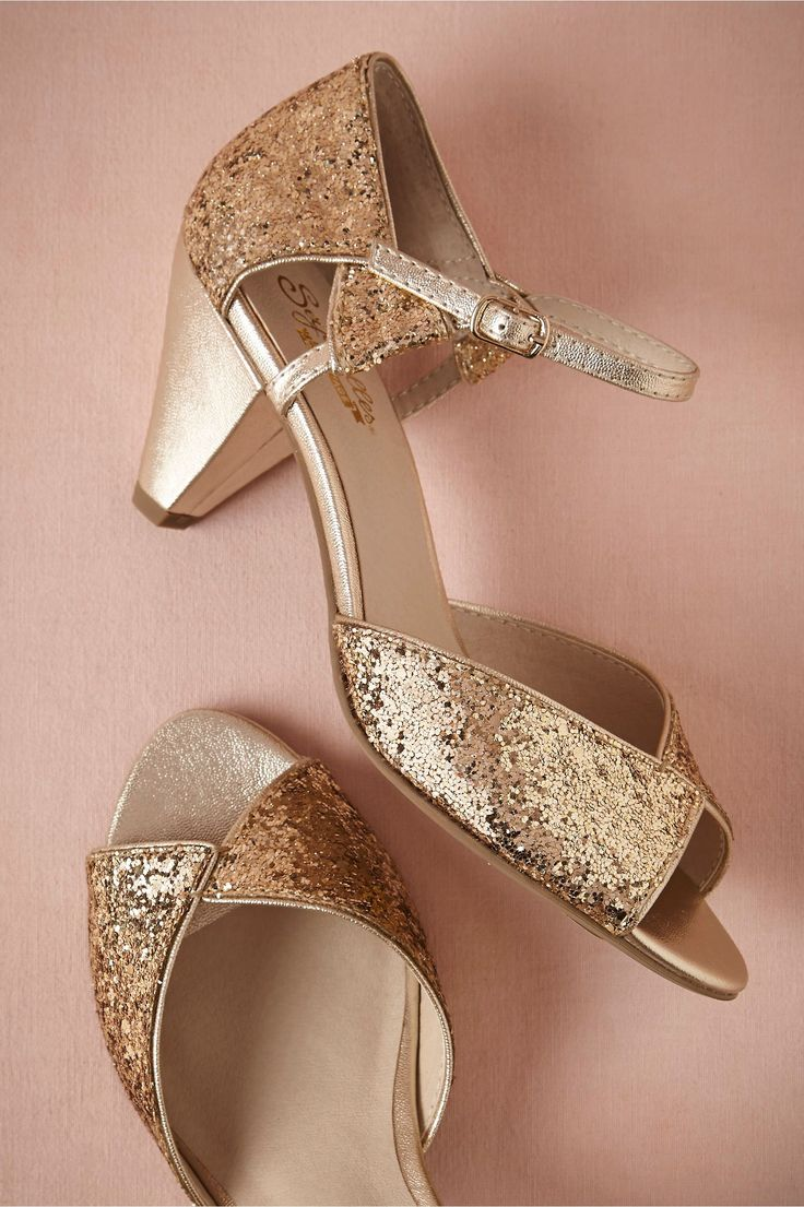wedding dancing shoes wedding slippers 20 Gold Wedding Shoes to Wear on Your Big Day