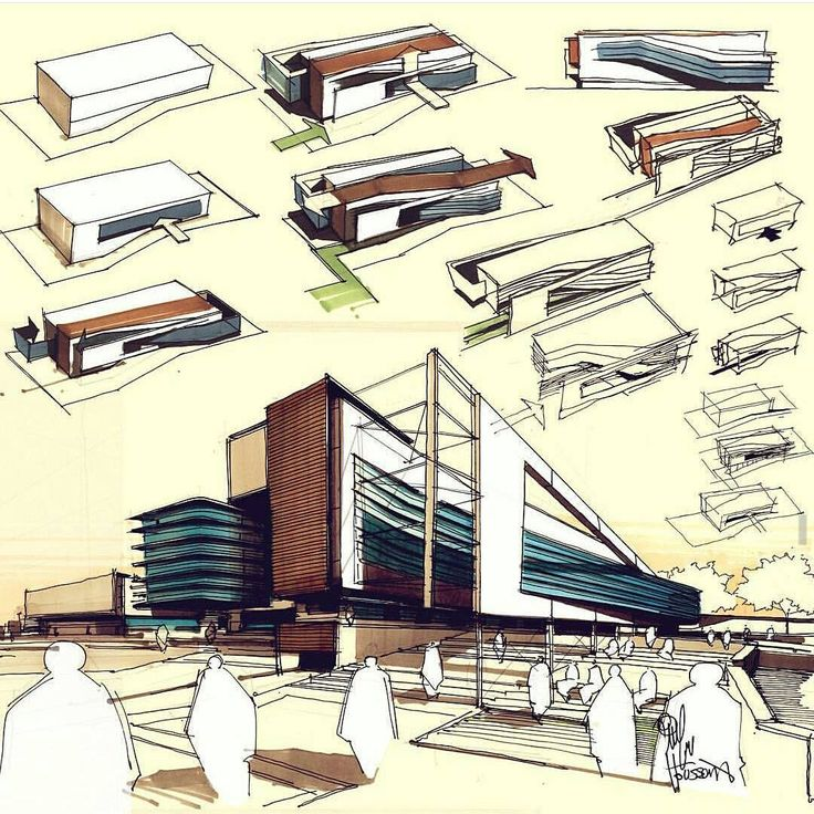 Contemporary Architecture Design Sketches Find This Pin And More On Decorating