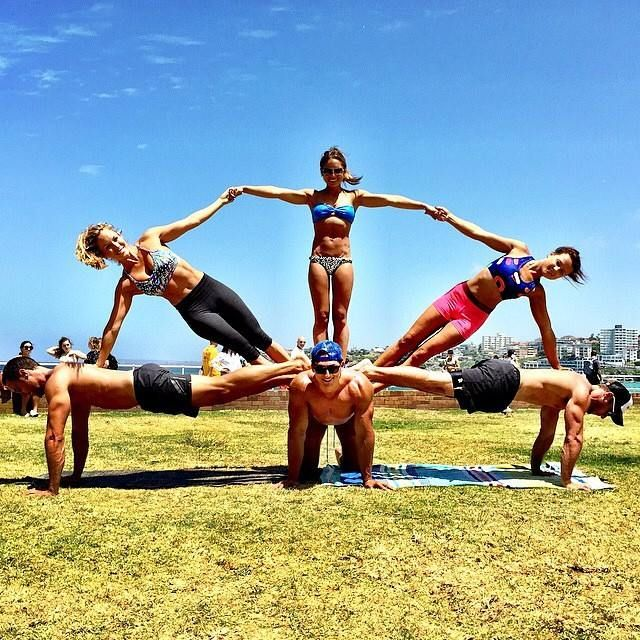 1000 Images About Acroyoga 3 Person Poses On Yoga