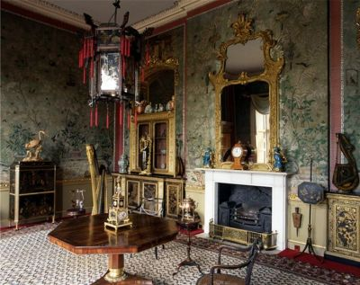 Temple Newsam The Chinese drawing room at Temple Newsam.   chinoiserie room   Pinterest ...