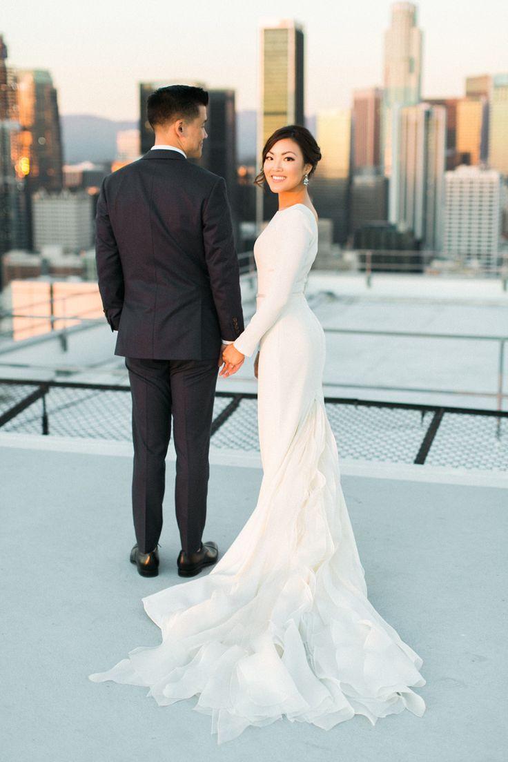 sleek wedding dress bodycon wedding dress Sleek Modern Wedding Dresses that are Redefining Classic