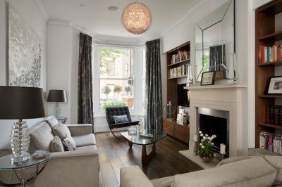 Living room, Victorian terrace by NS Interiors | Living ...