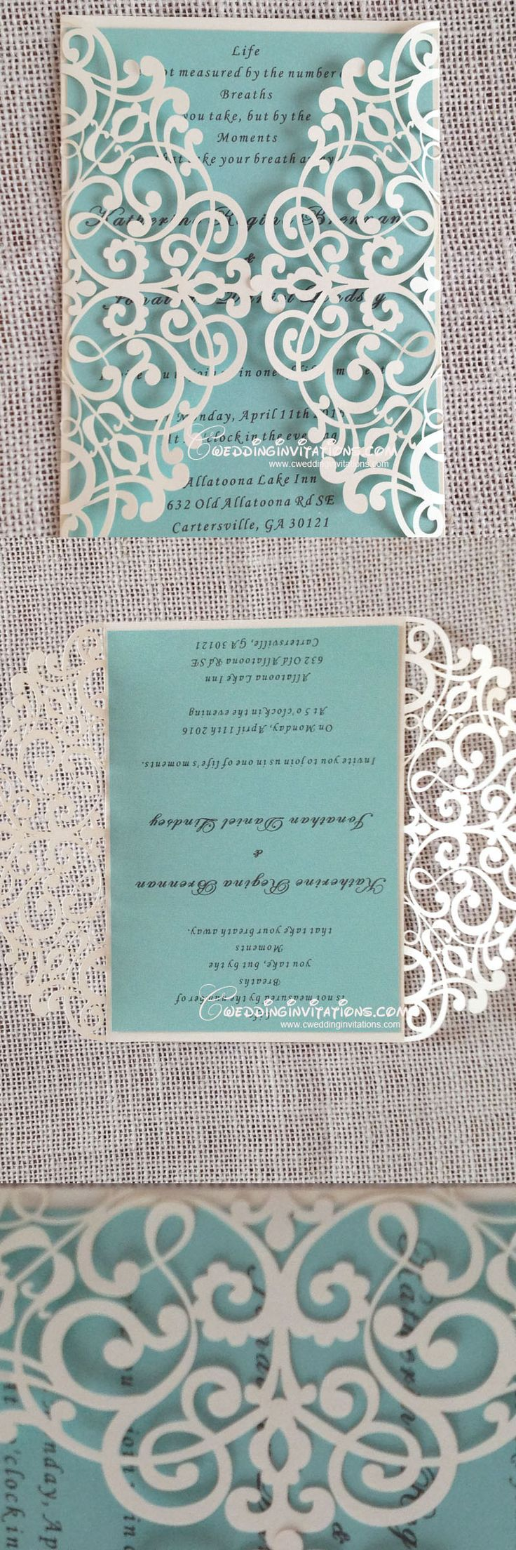 tiffany wedding invitations tiffany blue wedding invitations tiffany blue laser cut wedding invitations laser cut wedding invitations wedding invitations wedding cards www