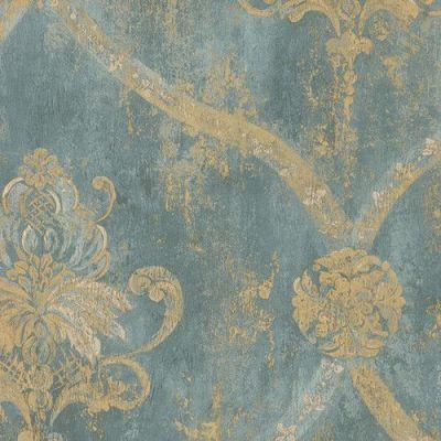 17 Best ideas about Damask Wallpaper on Pinterest | Gold damask wallpaper, Grey damask wallpaper ...