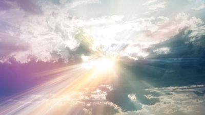 Rays of Sunshine through Clouds | Sun Rays Through The Clouds, Colorful Wallpaper 1920X1080 ...