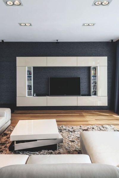 Modern Tv Wall Unit Designs - WoodWorking Projects & Plans