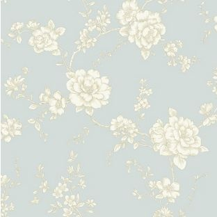 Arthouse Vintage Belvoir Wallpaper - Teal from Homebase.co.uk | Hallway | Pinterest | Teal ...