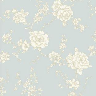 Arthouse Vintage Belvoir Wallpaper - Teal from Homebase.co.uk | Hallway | Pinterest | Teal ...
