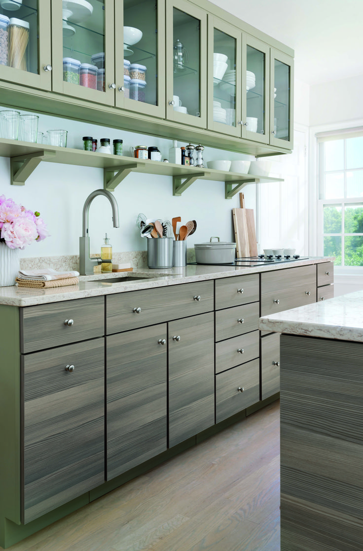 kitchens and dining rooms martha stewart kitchen cabinets Sleek modern and organized Just like you Your Martha Stewart Living dream