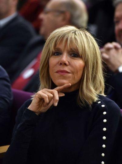 Brigitte Macron style file:   Inspiration - Madame Macron   Pinterest   Filing, Macron president ...