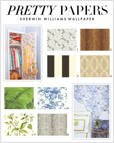 Sherwin Williams EasyChange Wallpaper . | New Bathroom | Pinterest