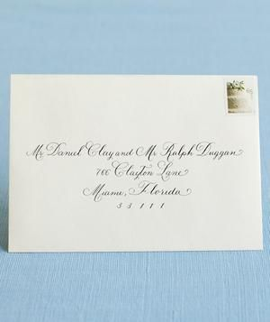 1000+ ideas about Addressing Wedding Envelopes on ...