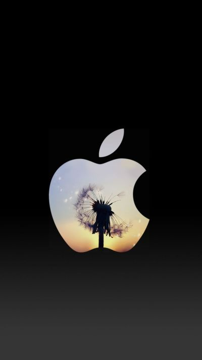 Dandelion Sunset Apple Logo iPhone 6 Lock Screen Wallpaper | ♥ iPhone Wallpaper ♥ | Pinterest ...