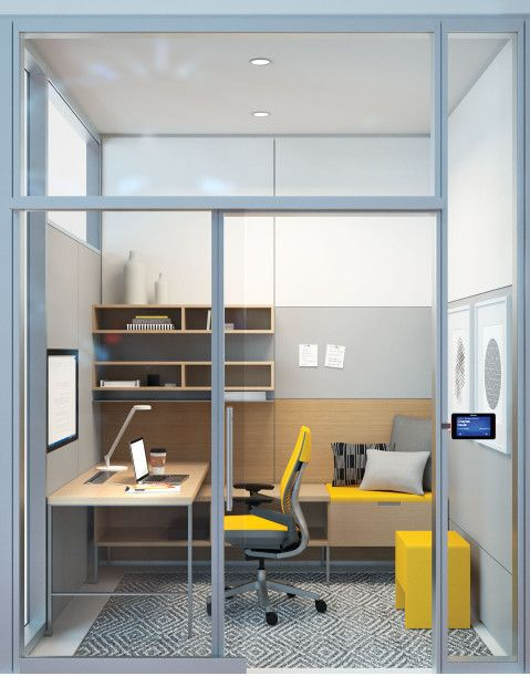 flow a place free from visual distraction or interruption for deep focus strategic thinking and small office interior design i