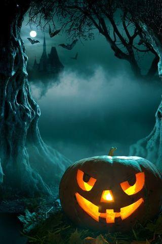 Halloween Night iPhone wallpaper | Halloween Cell Phone Wallpaper | Pinterest | Halloween ...